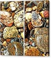 River Rocks 15 In Stereo Acrylic Print