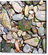 River Rocks 2 Acrylic Print