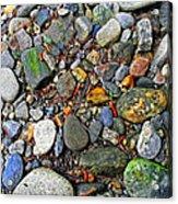River Rocks 22 Acrylic Print