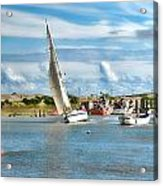 River Rother Acrylic Print by Sharon Lisa Clarke