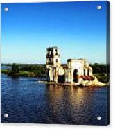 River Ruins Acrylic Print