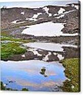 River San Juan And Lakes At Sunset Acrylic Print