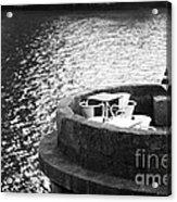 River Seat Acrylic Print by John Rizzuto