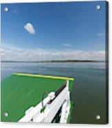 River Shannon Ferry, Tarbert-killimer Acrylic Print