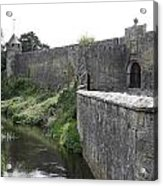 River Suir And Cahir Castle Acrylic Print