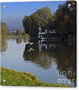 River Thames At Cookham Acrylic Print