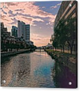 River Through Baltimore Acrylic Print