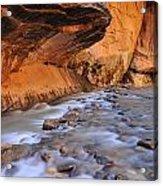 River Through Zion Acrylic Print