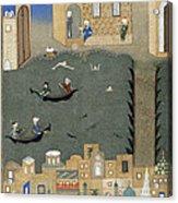 River Tigris In Baghdad Acrylic Print