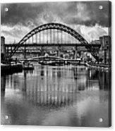 River Tyne Bridges Acrylic Print