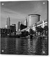 River View Of Cleveland Ohio Acrylic Print