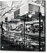 River Walk Tables Acrylic Print