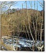 River Waterfall Acrylic Print