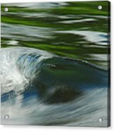 River Wave Acrylic Print