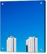 Riverdale Towers Acrylic Print