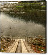 Rivers Edge Acrylic Print
