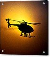 Riverside Ca Pd Air Support Acrylic Print
