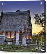 Riverside Cemetery Acrylic Print