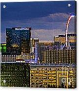 Riviera Balcony View Acrylic Print