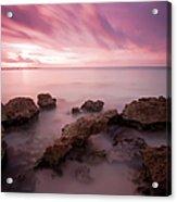Riviera Maya Sunrise Acrylic Print