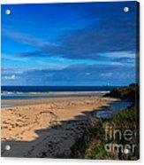 Riviere Sands Cornwall Acrylic Print