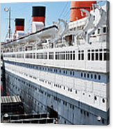 Rms Queen Mary Acrylic Print