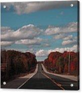Road Ahead Acrylic Print