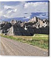 Road From Interior Acrylic Print
