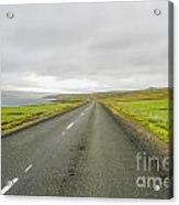 Road In Iceland Acrylic Print