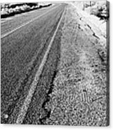 Road In The Desert #1 Acrylic Print