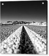 Road In The Desert Acrylic Print