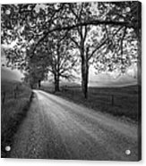 Road Not Traveled Acrylic Print by Jon Glaser