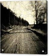Road Of The Past Acrylic Print