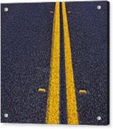 Road Stripe  Acrylic Print