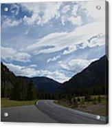 Road Through The Mountains Acrylic Print