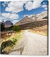 Road To Beinn Eighe Acrylic Print