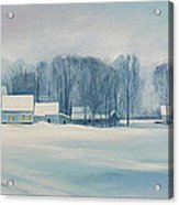 Road To Felchville Vermont Acrylic Print