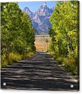 Road To Happiness Acrylic Print