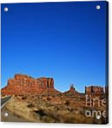 Road To Monument Valley V2 Acrylic Print