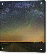 Road To Nowhere   Air Glow Acrylic Print