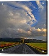 Road To Nowhere Acrylic Print by JM Photography    Jim Mullholand