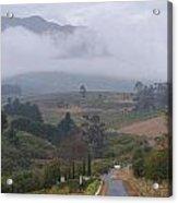 Road To Stellenbosch Acrylic Print