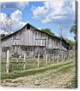 Road To The Barn - Featured In Old Building And Ruins Group Acrylic Print