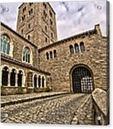 Road To The Gatehouse - In Color Acrylic Print
