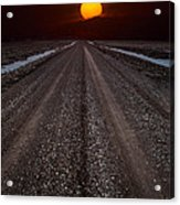Road To The Sun Acrylic Print