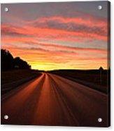 Road To Tomorrow Acrylic Print