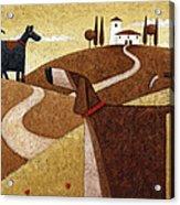 Road To Tuscany Acrylic Print