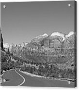 Road To Zion Acrylic Print