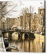 Roads Of Amsterdam Acrylic Print