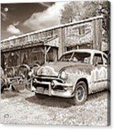 Roadside Antiques Acrylic Print